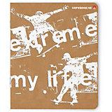 Тетрадь Альт Экстрим-моя жизнь, 48 листов, клетка, 5 шт