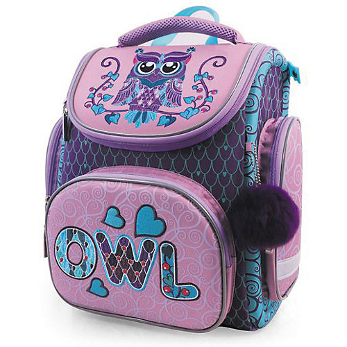 Ранец Hatber Compact Plus, Owl от Hatber