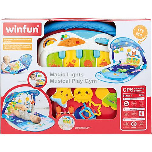 Развивающий коврик WinFun Волшебные огни от WinFun