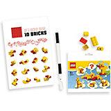 Записная книжка LEGO Classic Duck Build, с ручкой и мини-фигурой, 192 листа