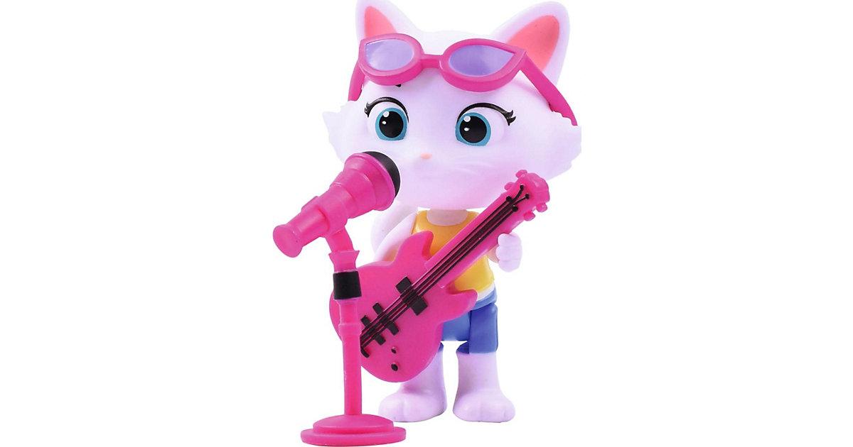 44 Cats Spielfigur Milady mit Bass-Gitarre pink/weiß