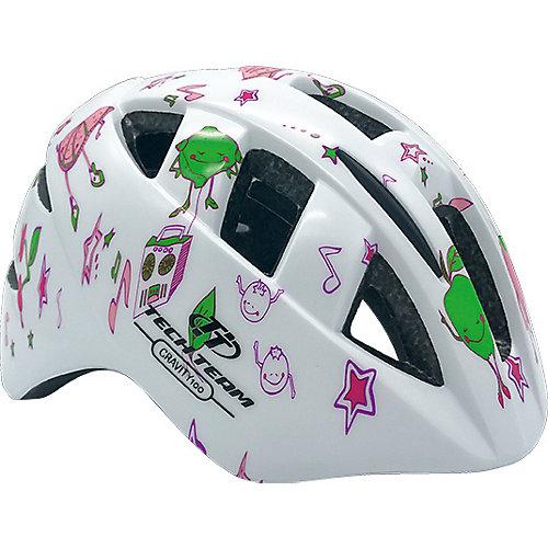 Защитный шлем Tech Team Gravity 100 - белый от Tech Team
