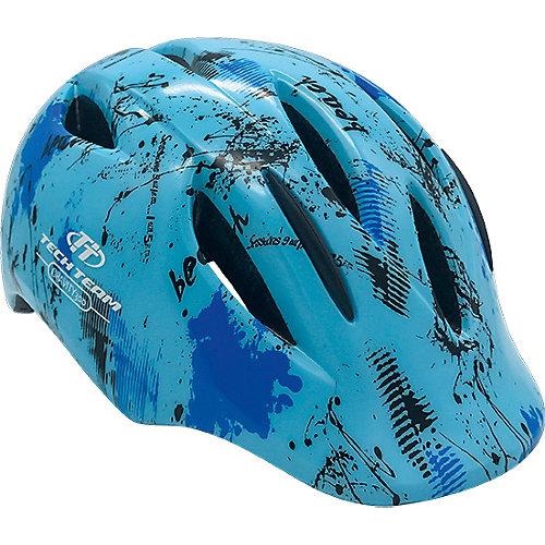 Защитный шлем Tech Team Gravity 300 - голубой от Tech Team