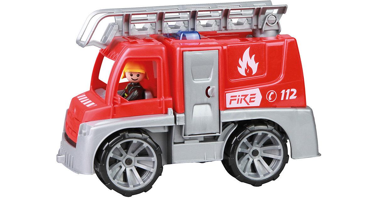 TRUXX Feuerwehr mit Leiter rot/silber
