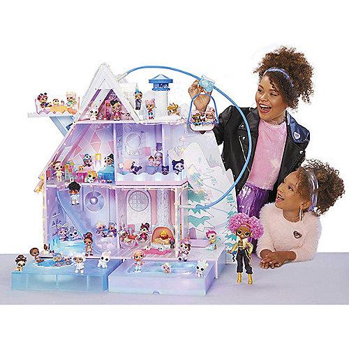 Дом для кукол MGA L.O.L. Зимнее Шале от MGA