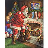 """Набор для раскрашивания по номерам Schipper """"Санта Клаус у камина"""""""