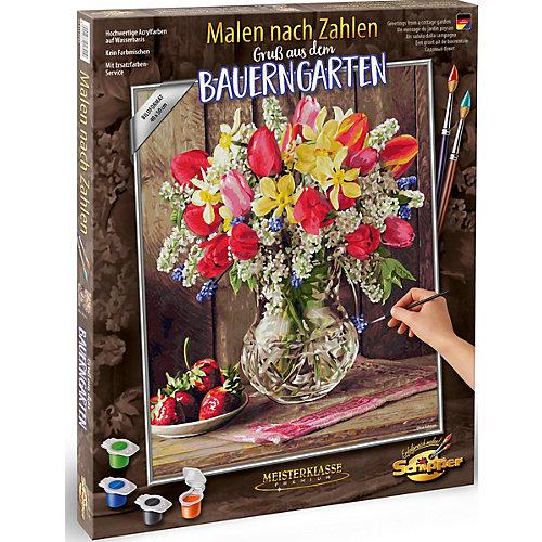 """Набор для раскрашивания по номерам Schipper """"Цветы из домашнего сада"""" от Schipper"""