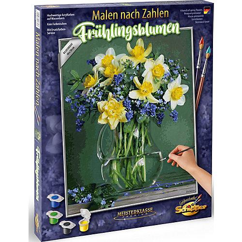 """Набор для раскрашивания по номерам Schipper """"Букет весенних цветов"""" от Schipper"""