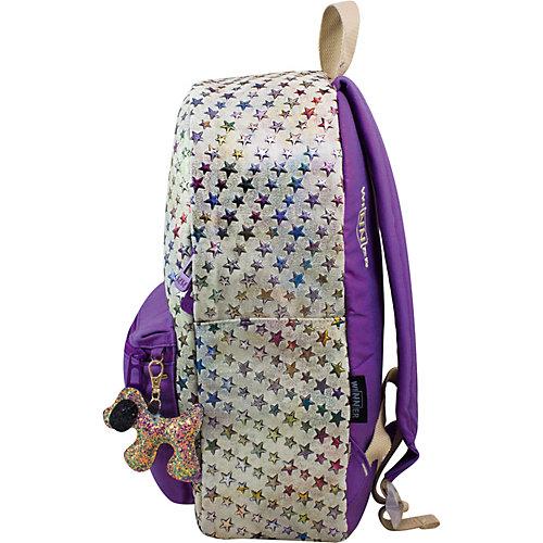 Рюкзак Winner 214, серый и фиолетовый - flieder/grau от WINNER