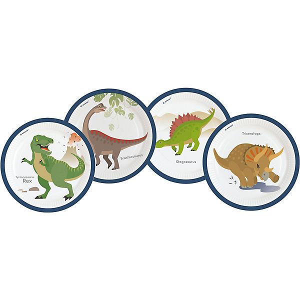 Partyset Happy Dinosaur 61 Tlg Riethmuller Mytoys