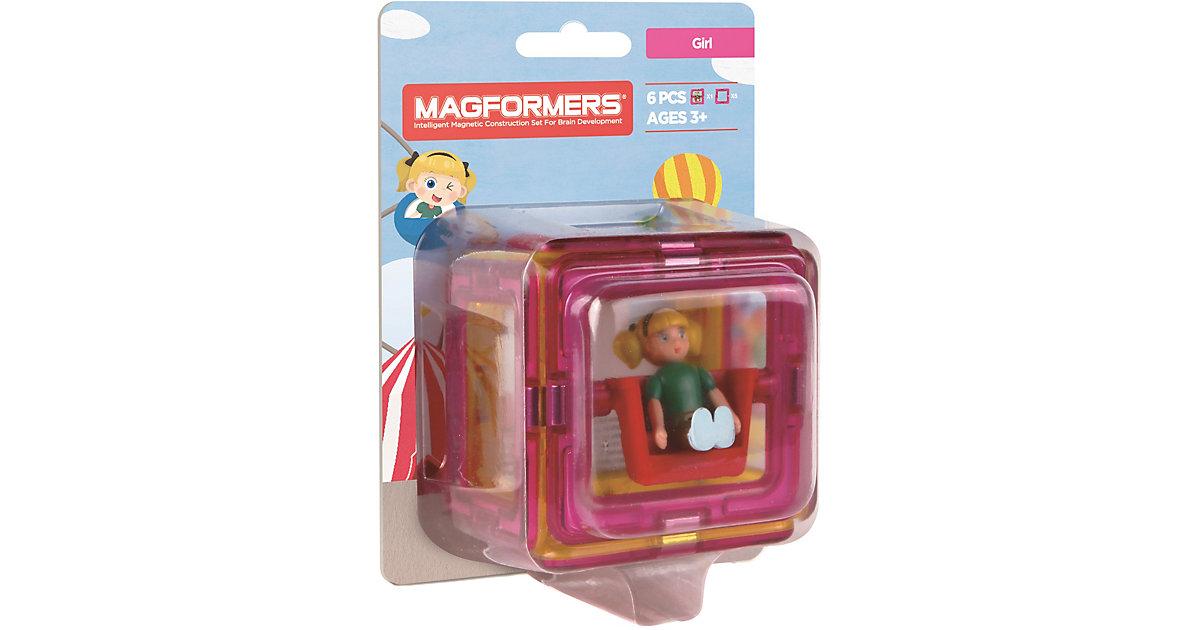 Magformers Figure Plus Girl Set