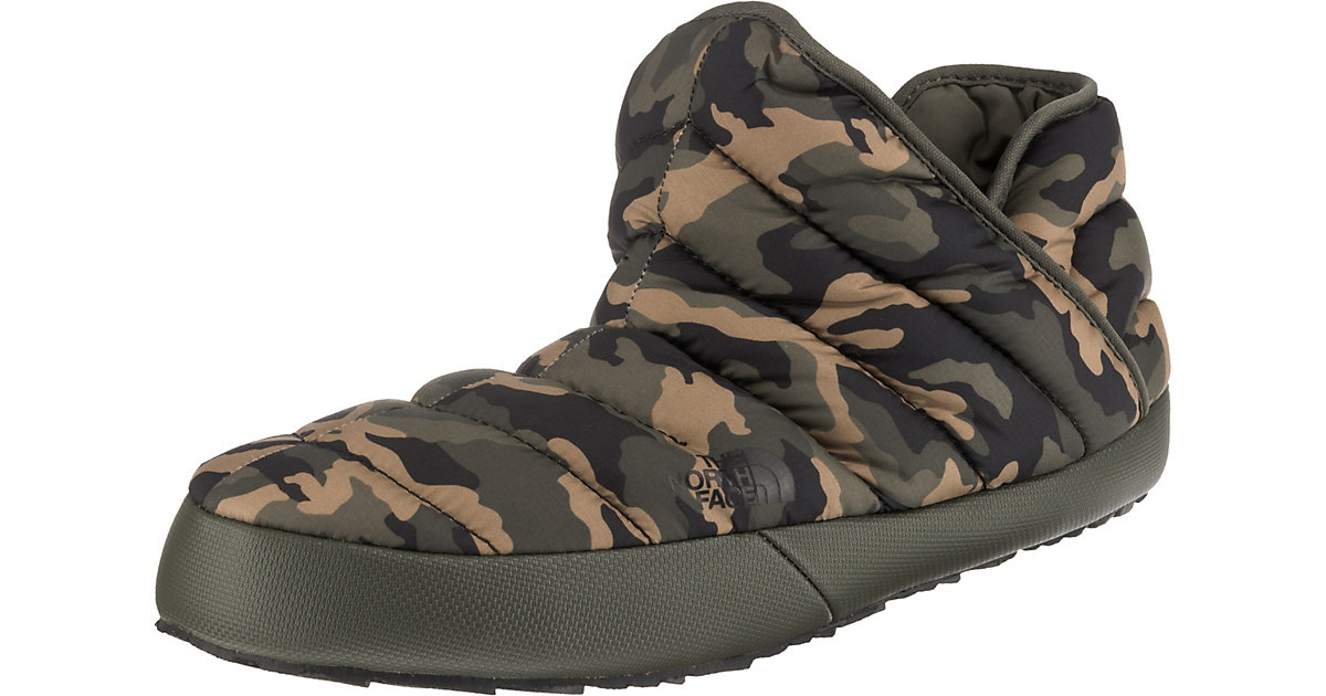 ThermoBall™ Traction Bootie Hüttenschuhe khaki Gr. 43 | Schuhe > Hausschuhe > Hüttenschuhe | THE NORTH FACE