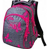Рюкзак Winner 205, серо-розовый