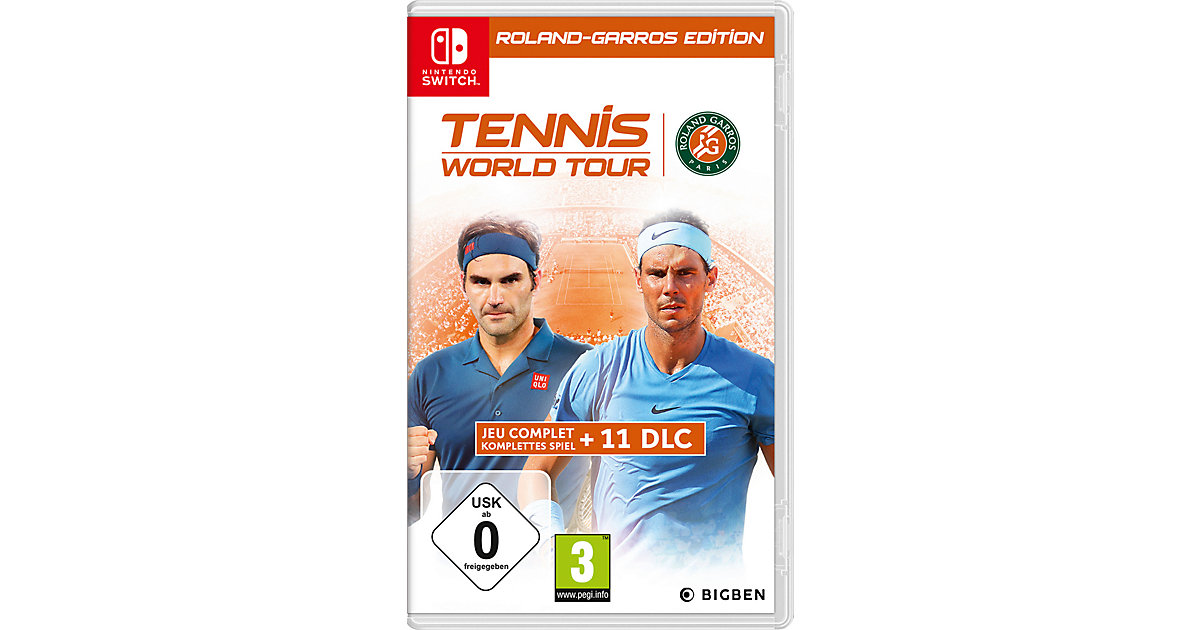 Nintendo Switch Tennis World Tour - Roland Garros Edt.