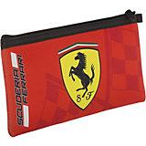Пенал Академия Групп Ferrari, на молнии, красный