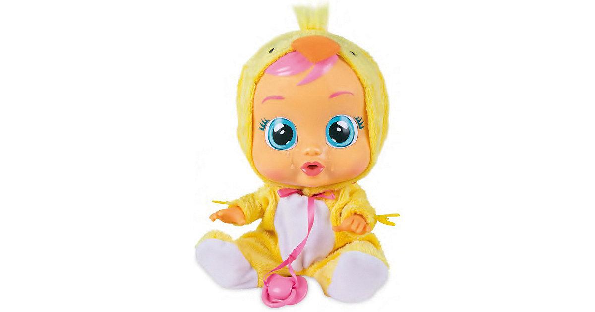 Cry Babies Chic das Küken Funktionspuppe gelb/weiß