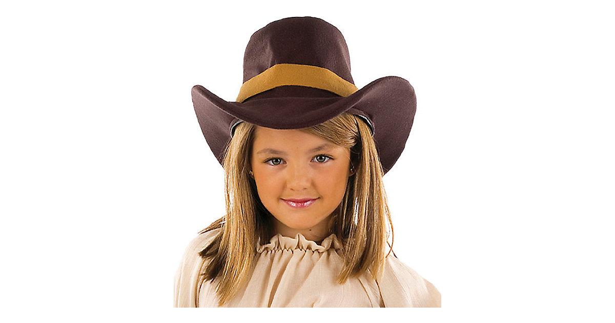 Cowgirlhut, braun Gr. one size Mädchen Kinder