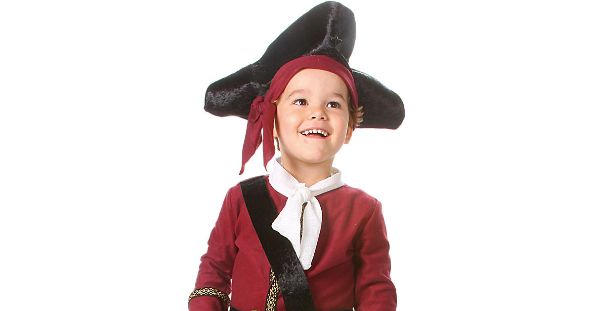 Piratenhut Gr. one size Jungen Kinder
