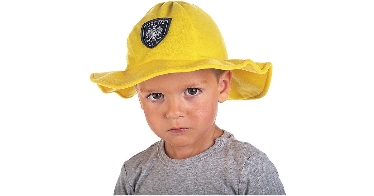 Feuerwehrhelm, Stoff Gr. one size Jungen Kinder