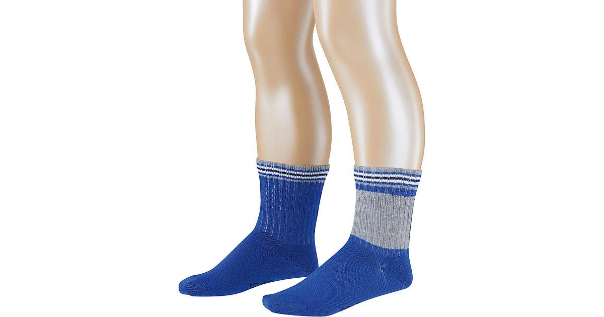 Kinder Socken Sporty 2er-Pack blau Gr. 27-30