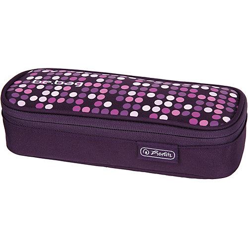 Пенал-косметичка Herlitz Cube Spotlights - фиолетовый от herlitz
