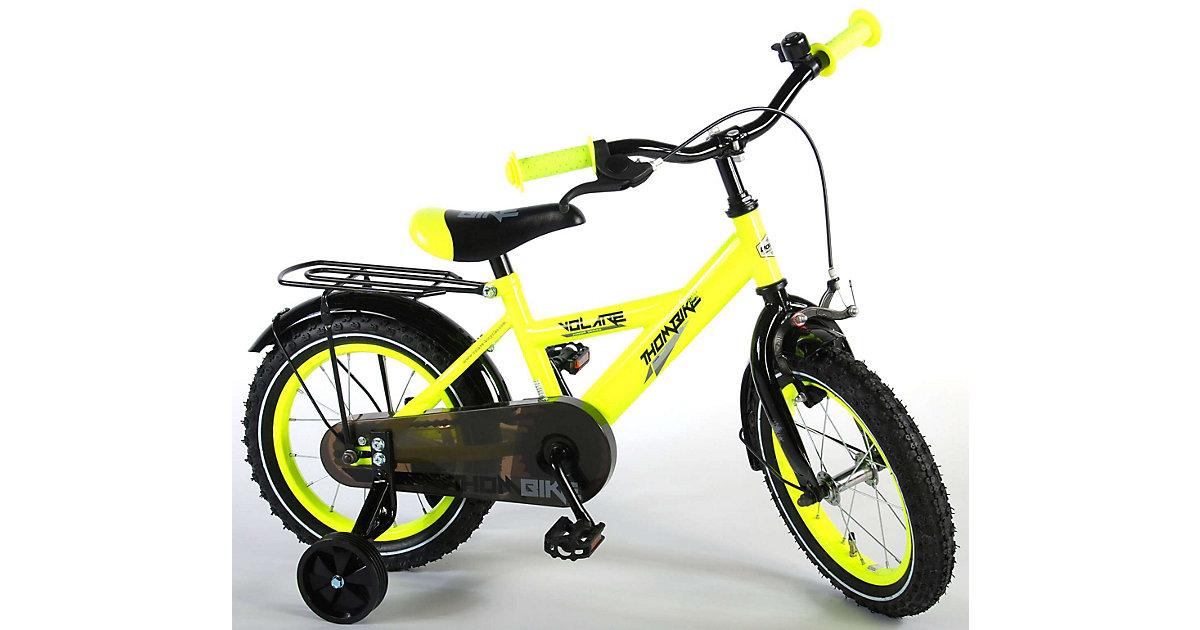 Thombike Kinderfahrrad 14 Zoll Neon Gelb gelb | Kinderzimmer > Spielzeuge > Kinderfahrräder | Volare