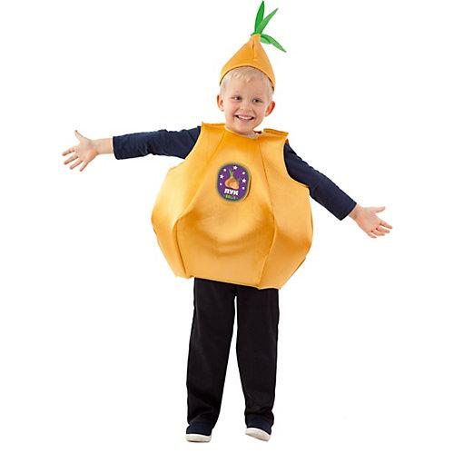 Карнавальный костюм Пуговка, Лук - желтый от Пуговка