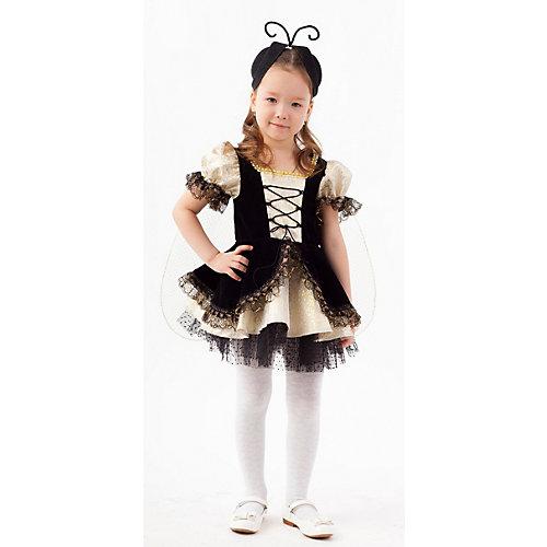 Карнавальный костюм Батик, Муха Цокотуха - черный от Пуговка