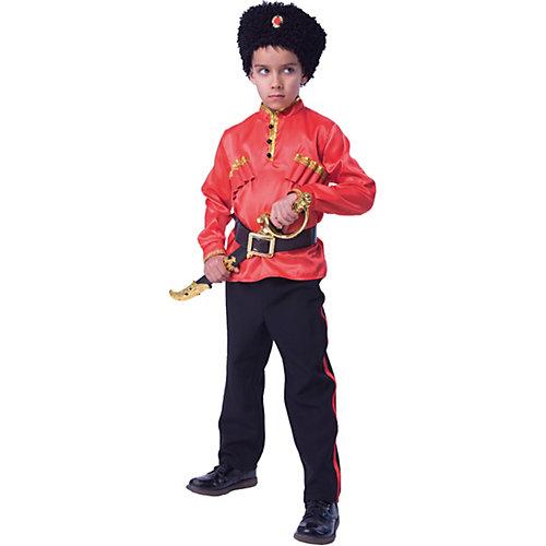 Карнавальный костюм Батик, Казак - красный от Пуговка