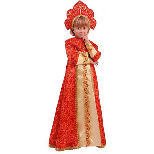 Карнавальный костюм Батик, Царевна Марья - красный от Пуговка