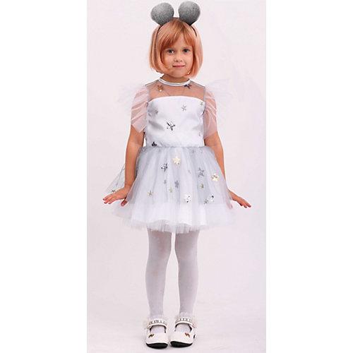 Карнавальный костюм Пуговка, Мышка Соня - серый от Пуговка