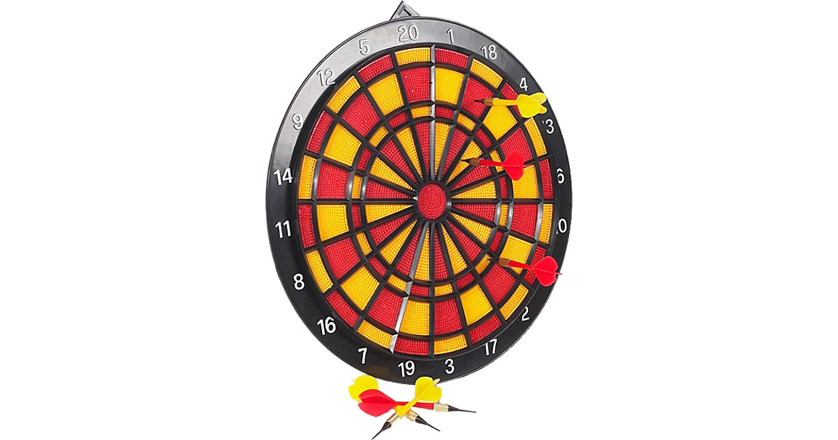Sicherheits-Dart-Spiel, 37 cm rot