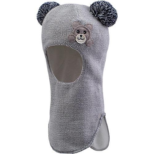 Шапка-шлем Kerry Edie - серый от Kerry