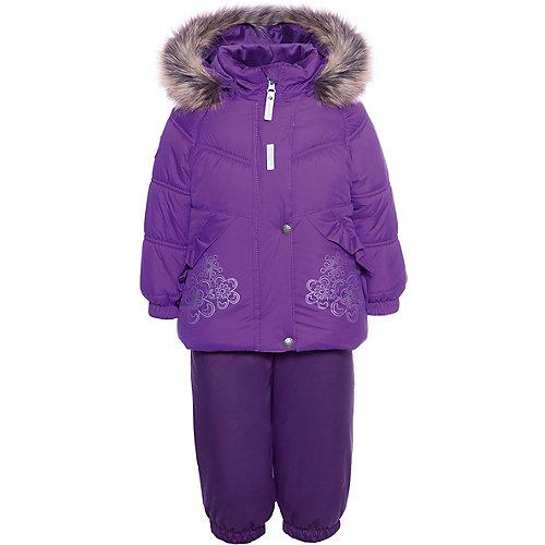 Комплект Kerry Flora: куртка и полукомбинезон - лиловый от Kerry