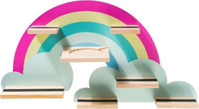 Regal für die Hörspielbox - Regenbogen, myToys-COLLECTION