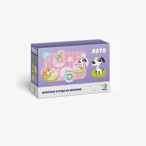 """Лото Dodo """"Животные и среда их обитания"""" от Dodo"""