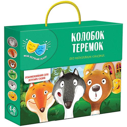 """Игровой набор Vladi Toys """"Сказка-спектакль: Колобок, Теремок"""" от Vladi Toys"""