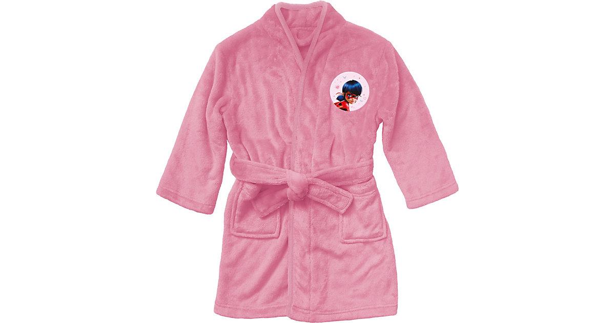 Bademantel Miraculous Ladybug Love, 6-8 Jahre rosa/rot Gr. 86/104 Mädchen Kinder
