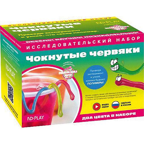 Набор для опытов ND Play Чокнутые червяки от ND Play
