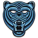 "Cветовая маска GeekMask ""Grizzli"", со звуком"
