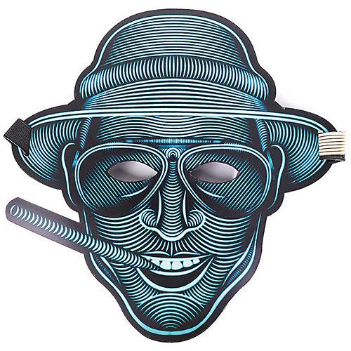 "Cветовая маска GeekMask ""Vegas"", со звуком - разноцветный от GeekMask"
