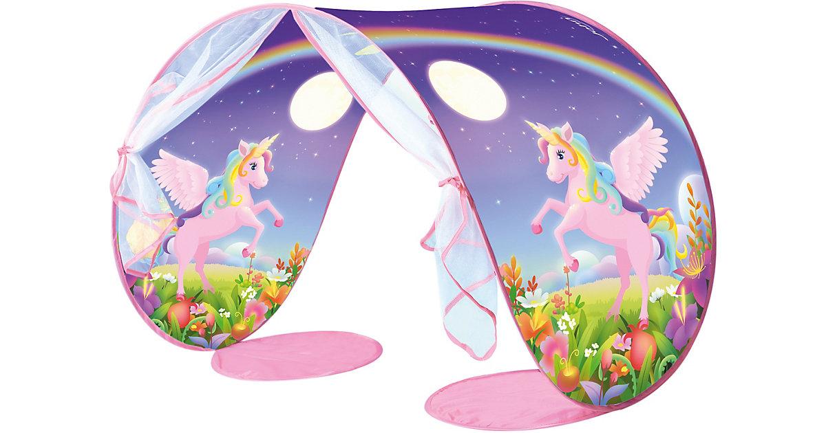 My Pop Up Dream On - Betttunnel mit Nachtlicht - Unicorn lila