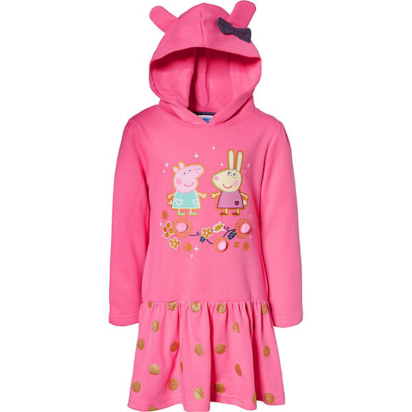 Peppa Pig Kinder Sweatkleid