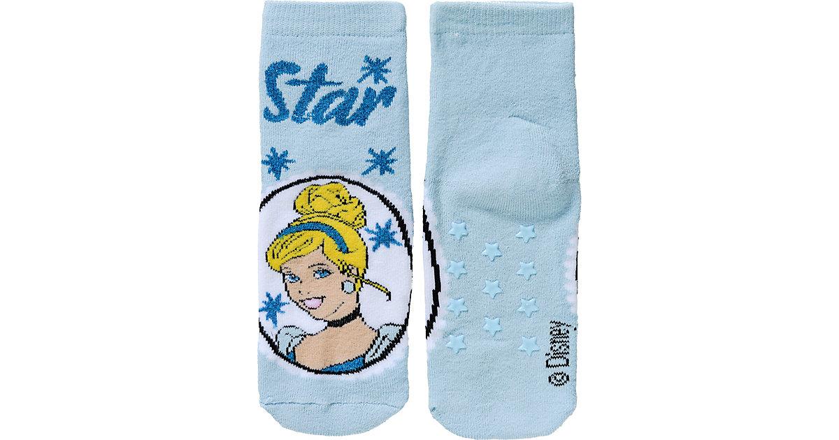 Disney Princess Socken mit ABS  hellblau Gr. 31-34 Mädchen Kinder