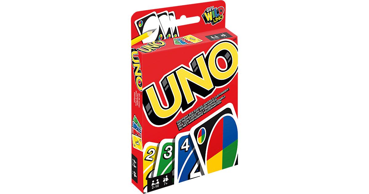 Mattel Games UNO Kartenspiel, Gesellschaftsspiel, Familienspiel, Kinderspiel