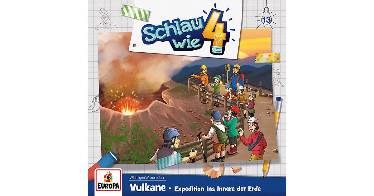 CD Schlau wie Vier 13 - Vulkane, Expedition ins Innere der Erde Hörbuch