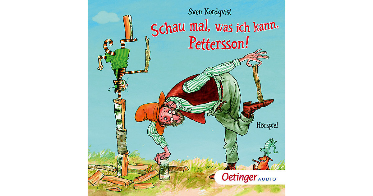 CD Pettersson und Findus - Schau mal, was ich kann, Pettersson! Hörbuch
