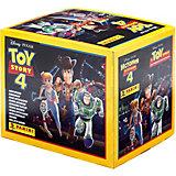 Бокс с  наклейками Panini История игрушек, 36 пакетиков в боксе
