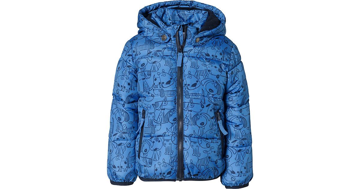 Baby Winterjacke  blau Gr. 68 Jungen Baby