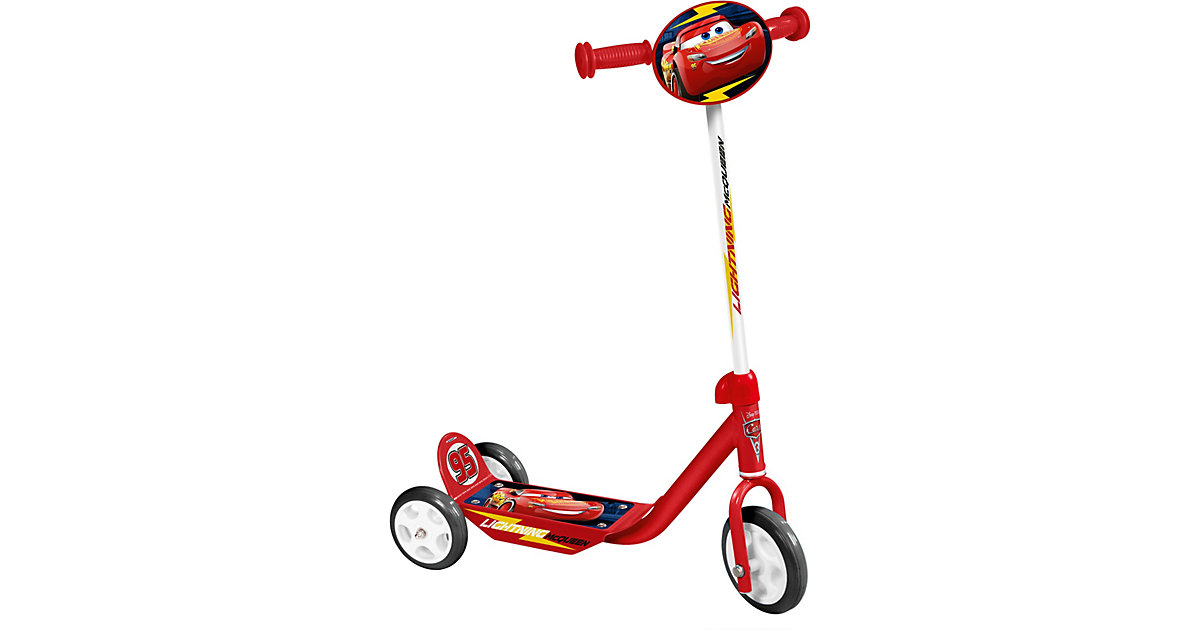 Cars Roller, 3 Räder rot